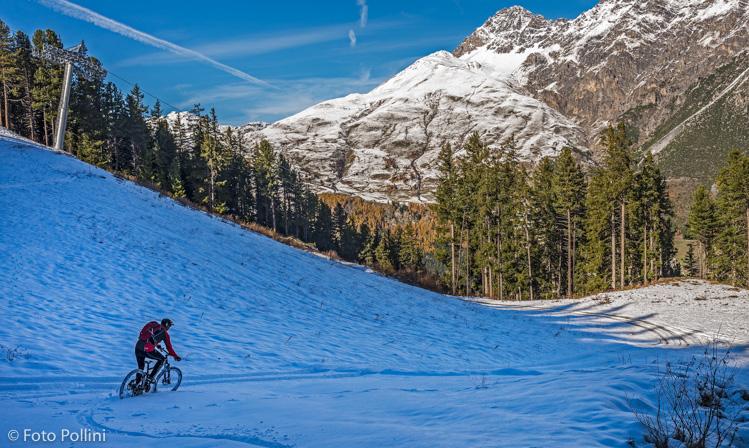 Sci-bike sulle piste di Isolaccia