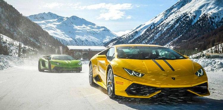 Dal 15 al 25 febbraio 2018, Livigno ospita la Lamborghini Winter Accademia, un test drive unico, alla guida della gamma di supersportive Lamborghini