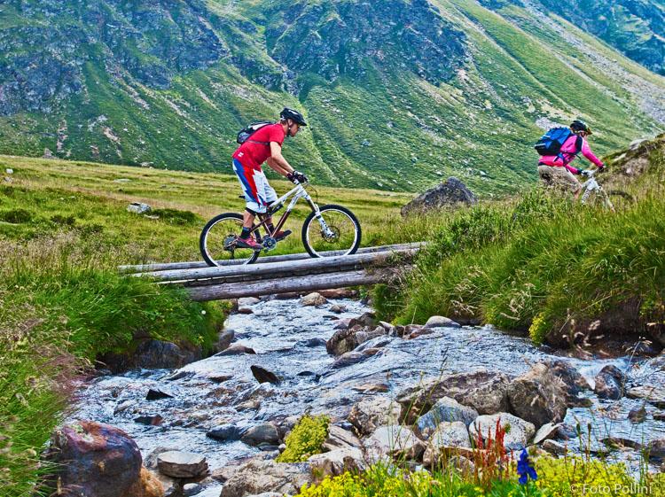 Sotto il Passo dell'Alpe