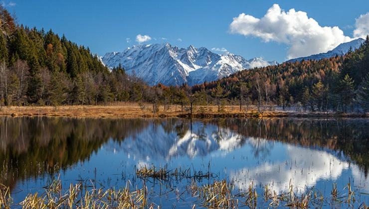 La Riserva Naturale di Pian Gembro sorge su una torbiera di origine glaciale, a breve distanza da Aprica