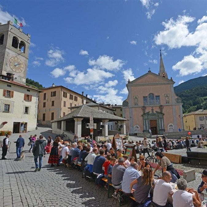 Bormio - La pizzoccherata più lunga d'Italia