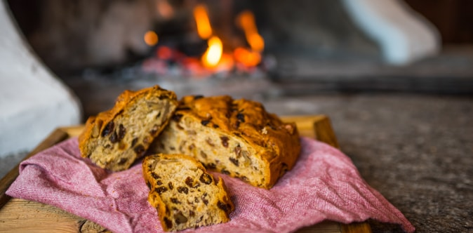 La bisciola, il dolce tipico della Valtellina