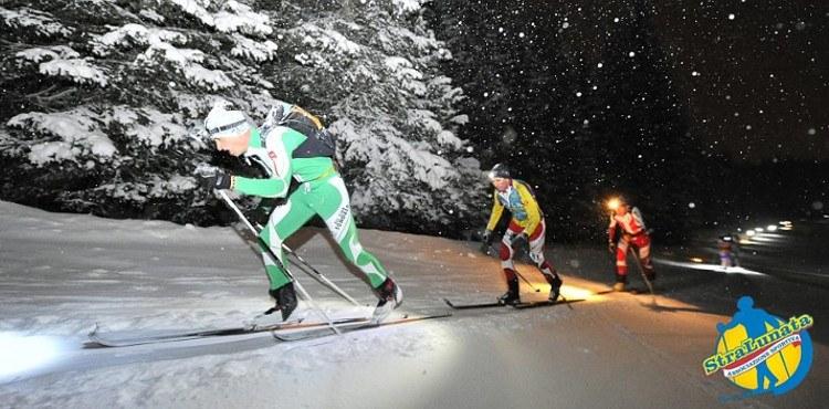 Giovedì 1° febbraio 2018, in Aprica, appuntamento con la 13^ edizione della Stralunata, gara-raduno di scialpinismo in notturna