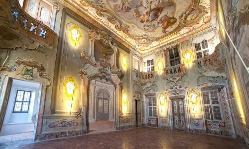 Il bellissimo Palazzo Malacrida di Morbegno (SO)