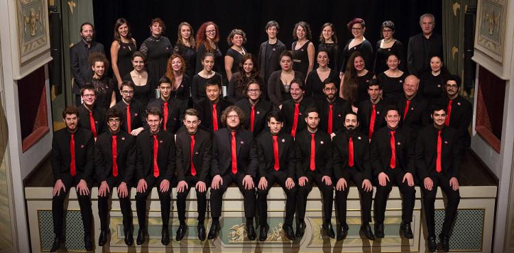 Il Coro Giovanile Italiano in concerto venerdì 17 novembre 2017 a Chiavenna, c/o Collegiata di S. Lorenzo