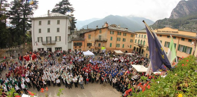 Dall'8 al 10 giugno 2018, a Chiavenna e Piuro, in Valtellina, appuntamento con il Rezia Cantat, con oltre 3500 coristi provenienti dalla Svizzera e dall'Italia