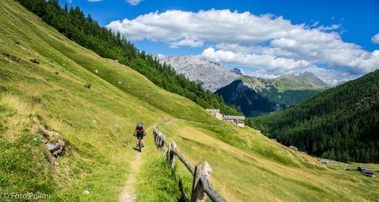 Val Federia discesa verso Pont de la Calcheira