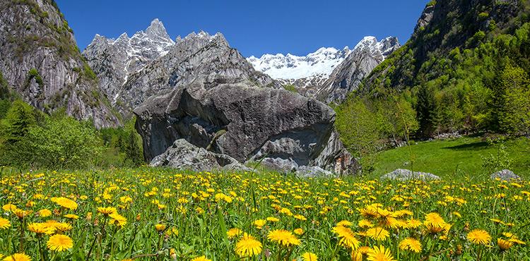 Thermal Spas - Masino Thermal Baths - Val Masino - Valtellina
