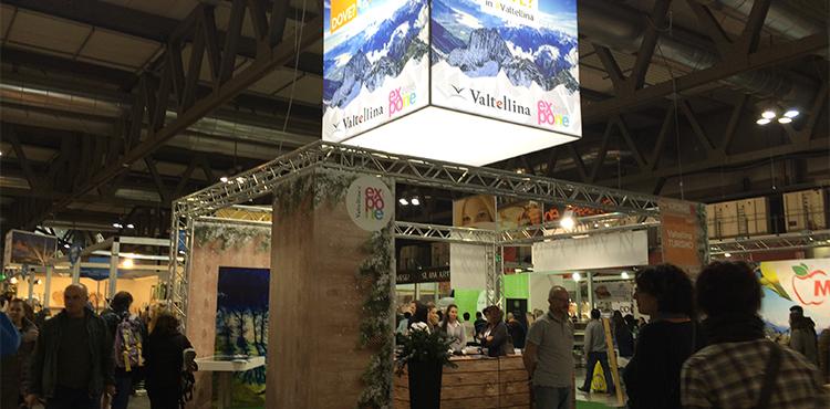 La Valtellina protagonista con un ampio stand all'Artigiano in Fiera, in programma dal 2 al 10 dicembre a Milano Rho-Pero
