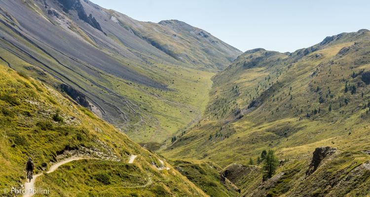 Dal passo di Val Trela verso l'Alpe Trela