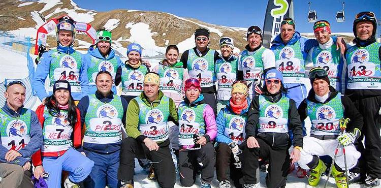 Domenica 15 aprile 2018, a S. Caterina Valfurva, torna Sciare per la Vita, gara sciistica non competitiva e benefica, con la partecipazione di grandi campioni dello sport