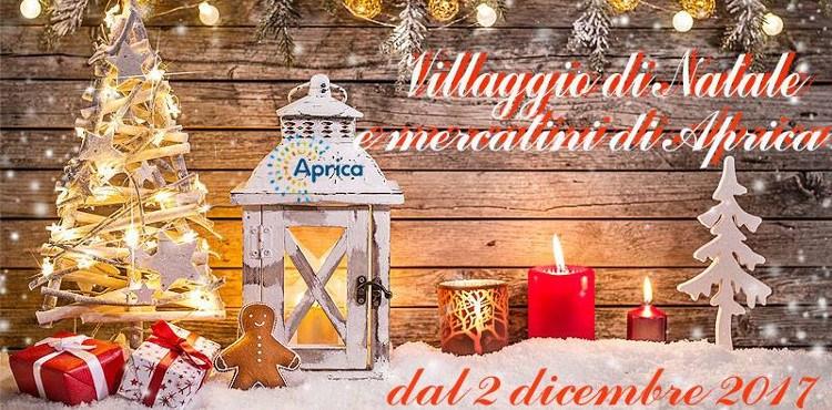 Dal 2 dicembre all'8 gennaio, appuntamento in piazza Nuova con il Villaggio di Natale e i Mercatini di Aprica