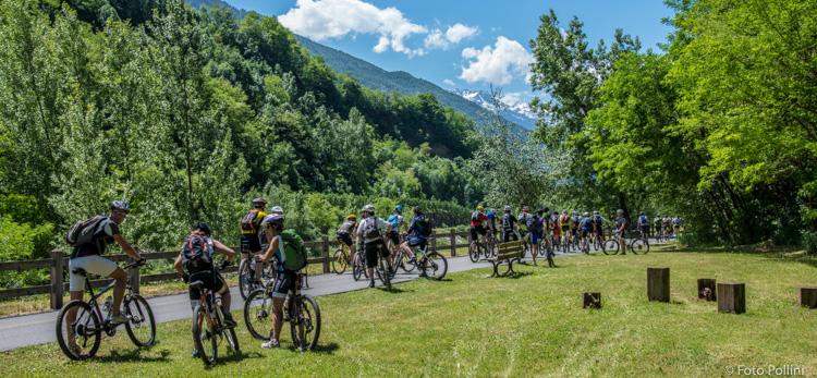 Il Sentiero Valtellina. Prima parte del percorso verso i Castelli
