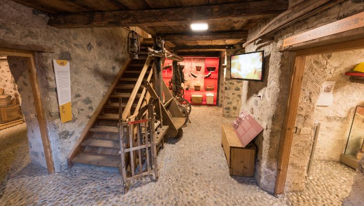 Inaugurato nel 2015, il MUS! Museo di Livigno e Trepalle ricostruisce la vita passata degli abitanti di Livigno e Trepalle