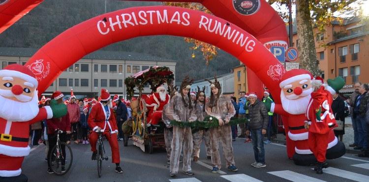 A Morbegno appuntamento fisso del periodo natalizio è la Christmas Running, corsa e camminata non competitiva a ritmo libero di 5 Km di beneficenza