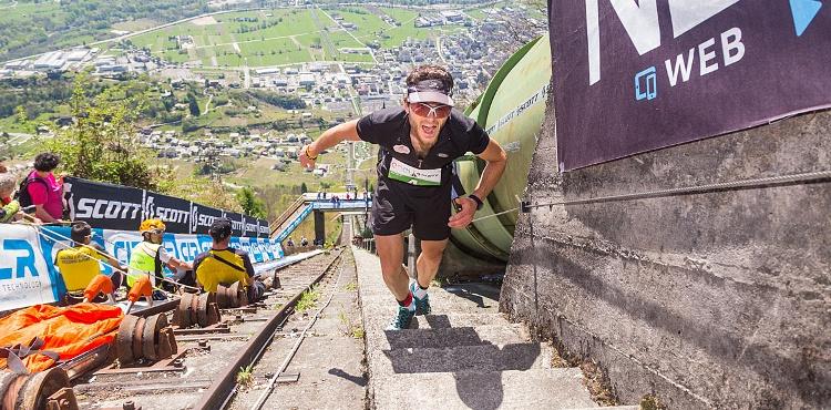 Sabato 7 aprile 2018 appuntamento in Valtellina con il Vertical Tube, gara di corsa in salita di un chilometro con 2700 gradini e un dislivello di 500 metri!