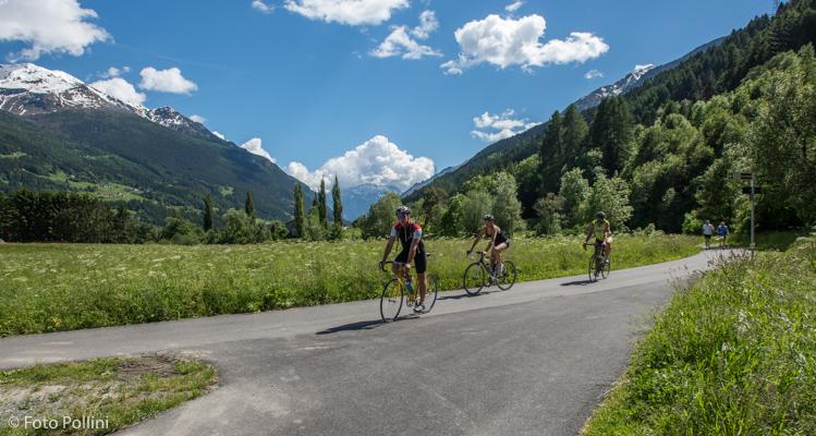 Bivio con Sentiero Valtellina