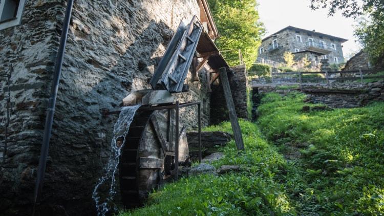 Il Mulino Menaglio, a Teglio