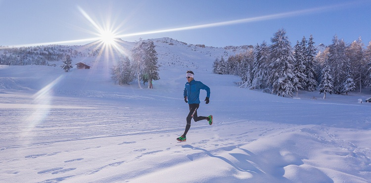 In Valtellina, in Valfurva, don't miss on February 25th the Santa Caterina Winter Trail, an incredible race in the snow along a route of 14 kilometers
