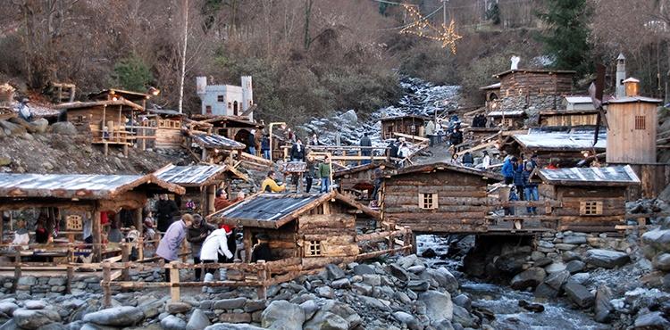 I Presepi delle Contrade di Talamona, tra i più caratteristici in Valtellina