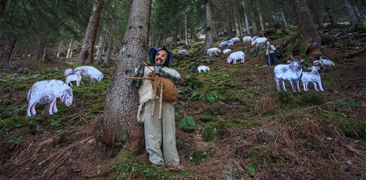 The Val Tartano's Nativity Scene, in Valtellina
