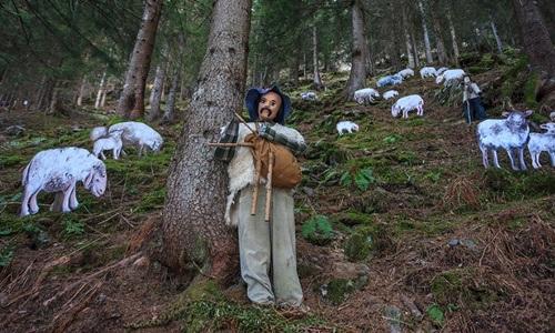 Il tradizionale villaggio di Natale anima il centro di Livigno durante tutto il periodo dell'Avvento